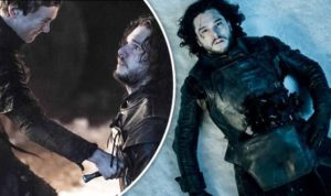 Jon Snow got stabbed