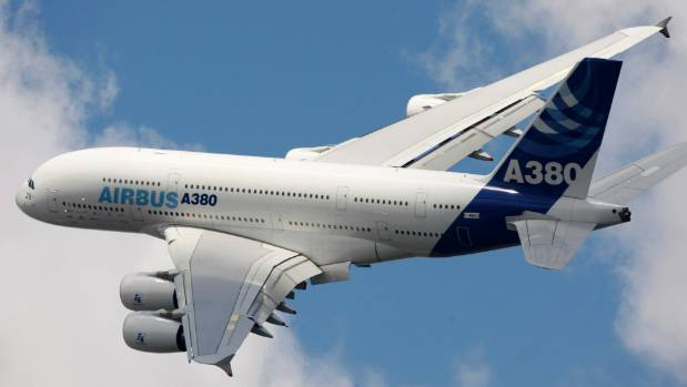 Airbus a380 private jet prince talal