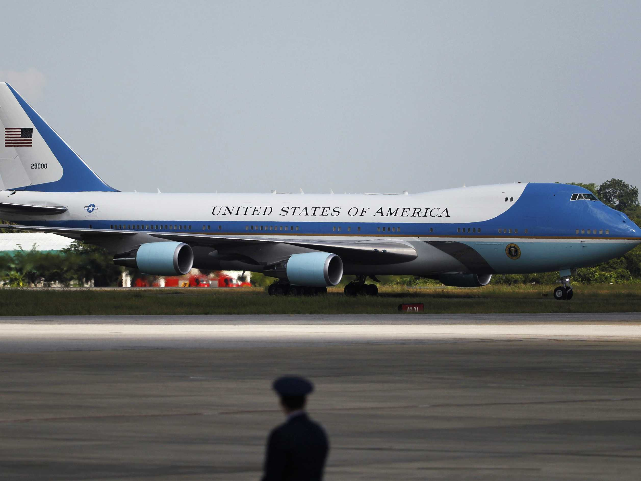 Air force One boeing 747-8